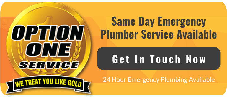 Option One Plumbing and Rooter 24 Hour Emergency Service